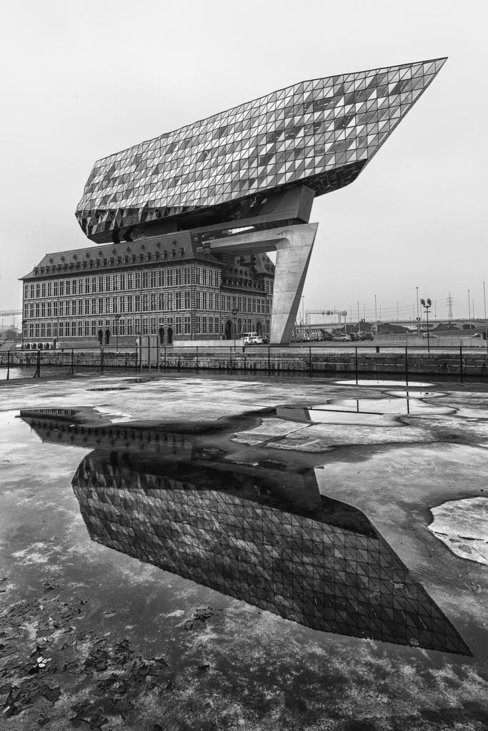 architecture miroitée