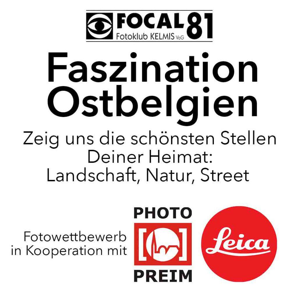 Faszination Ostbelgien 2021 Fotowettbewerb